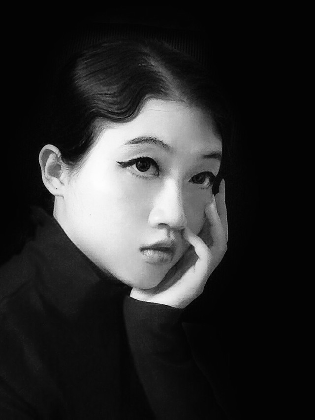 face-portrait-black-and-white-monochrome-eye picture material