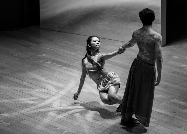 black-and-white-dance-for-two-black-dance-performing-arts picture material