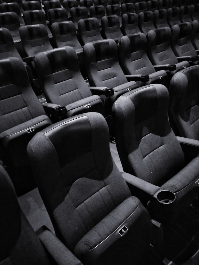 monochrome-black-and-white-seat-audience-auditorium picture material