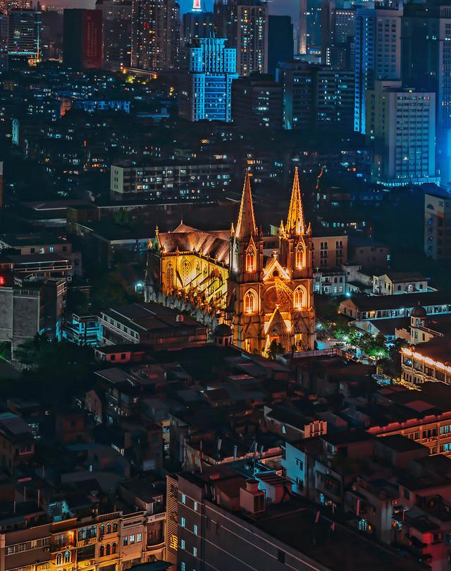 no-person-metropolitan-area-cityscape-travel-evening picture material