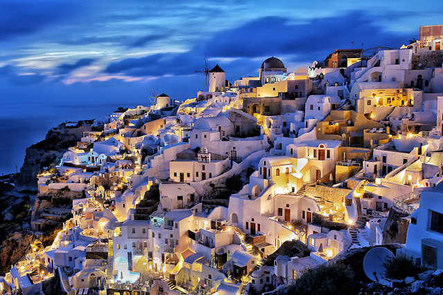architecture-city-travel-town-blue picture material
