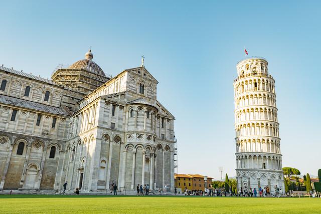 architecture-pisa-building-travel-landmark picture material