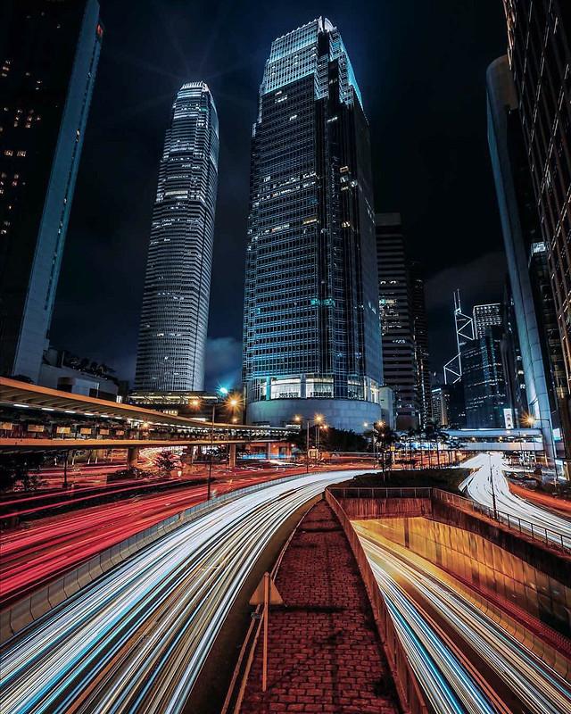downtown-city-dusk-skyscraper-metropolitan-area picture material
