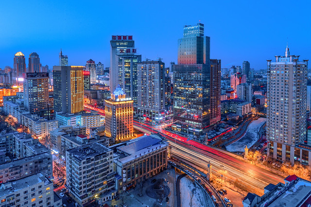 city-skyline-cityscape-skyscraper-architecture picture material