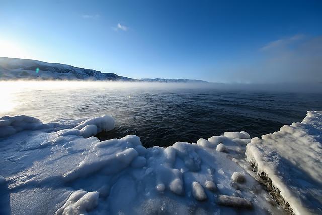 snow-water-no-person-winter-landscape 图片素材
