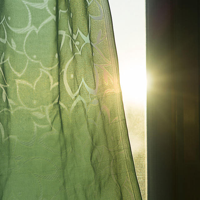 design-curtain-green-abstract-elegant picture material