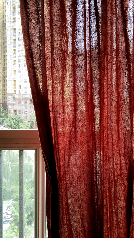 wood-curtain-no-person-red-fabric picture material