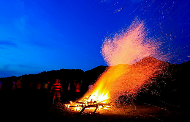 flame-smoke-no-person-eruption-volcano picture material