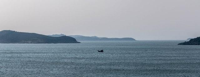 sea-ocean-sky-bay-water picture material
