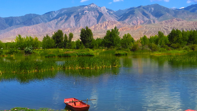 reflection-nature-lake-wilderness-water picture material
