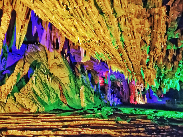 art-travel-no-person-pattern-stalactite picture material