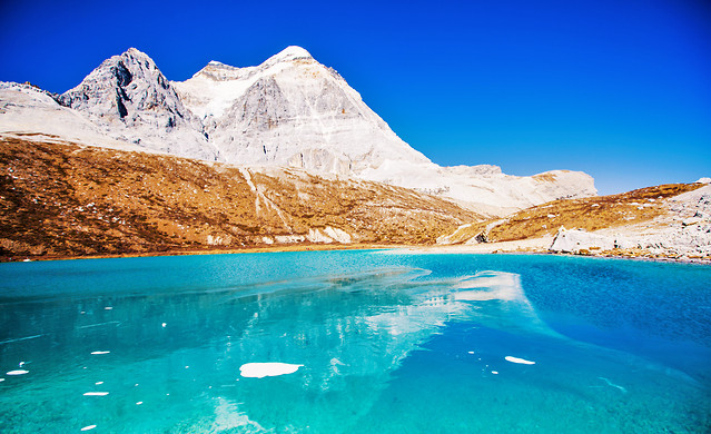 travel-water-snow-landscape-mountain 图片素材