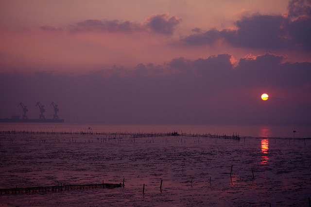 sunset-water-dawn-sea-evening 图片素材