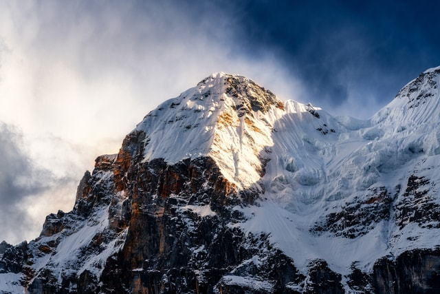 mountain-sky-winter-snow-landscape 图片素材