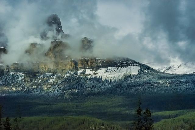 landscape-no-person-mountain-volcano-fog picture material