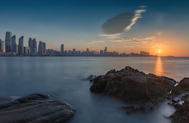 sunset-water-dawn-evening-dusk 图片素材