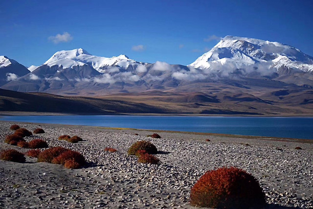 snow-volcano-mountain-no-person-landscape picture material
