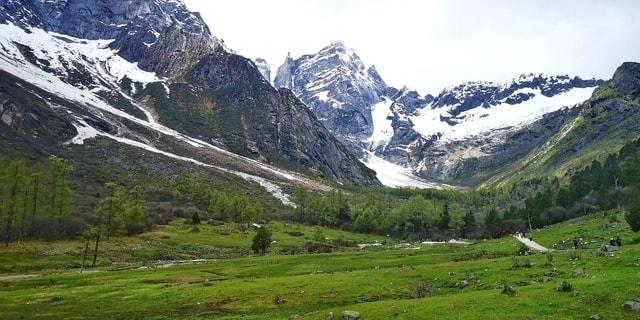 mountainous-landforms-mountain-highland-natural-landscape-mountain-range 图片素材