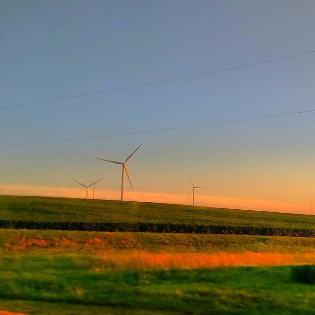 windmill-farm-electricity-landscape-energy picture material