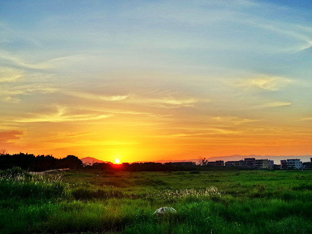 sunset-sun-sky-dawn-nature 图片素材