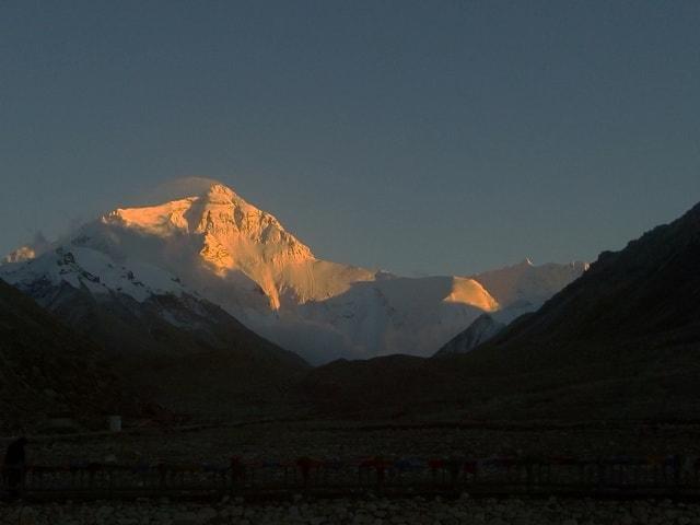 everest-sunset-mountainous-landforms-mountain-sky 图片素材