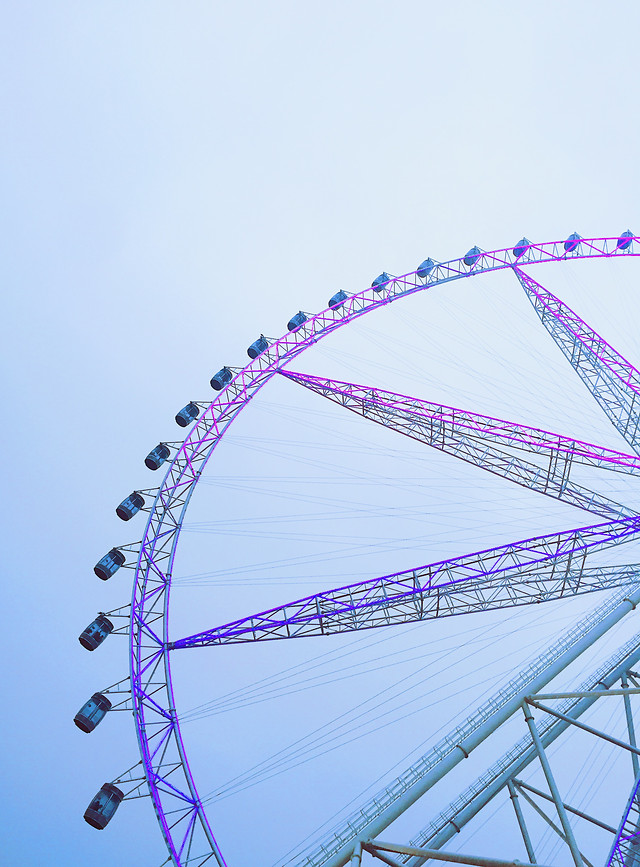 entertainment-carousel-carnival-sky-wheel picture material