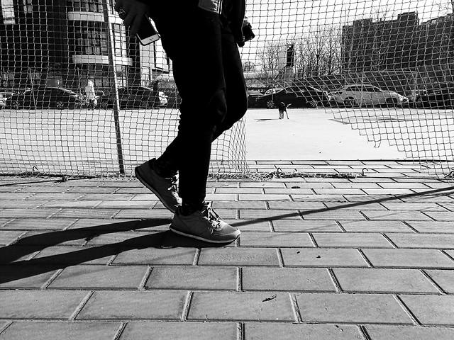 street-monochrome-people-urban-footwear picture material