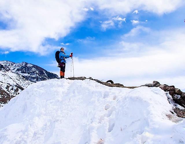 snow-winter-mountain-cold-climber 图片素材