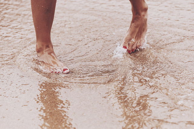 beach-sand-foot-water-wet picture material
