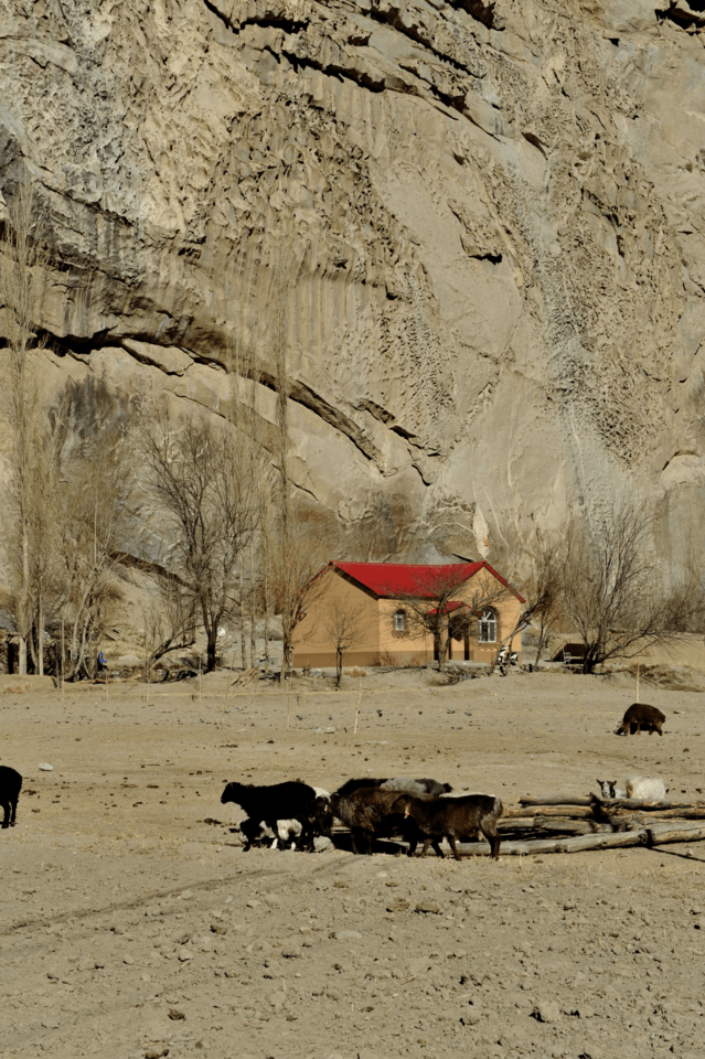 hide-kunlun-mountains-house-geological-phenomenon-geology 图片素材