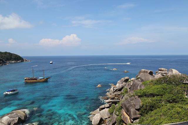 sea-water-ocean-sky-bay picture material
