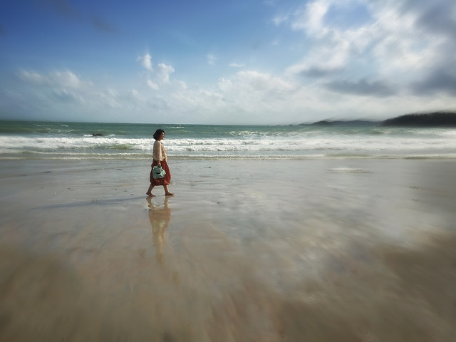 beach-water-sand-sun-travel picture material