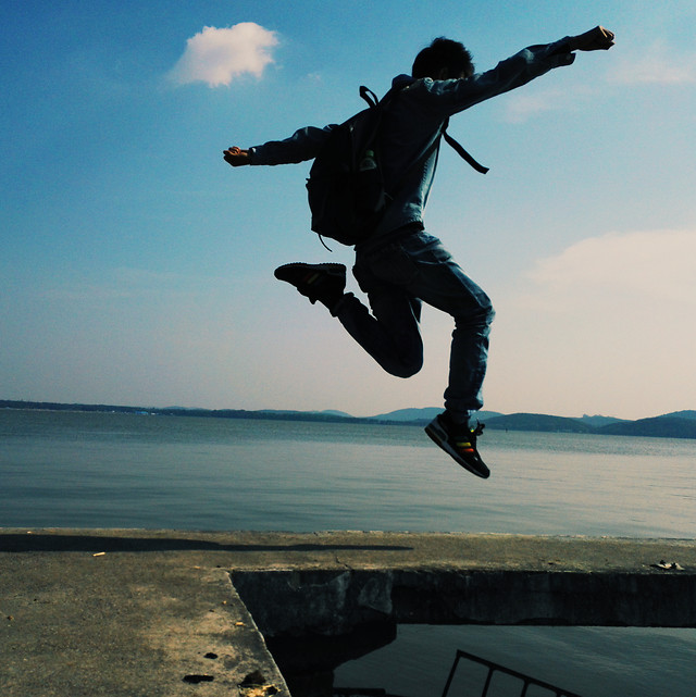 balance-recreation-fun-action-jump picture material