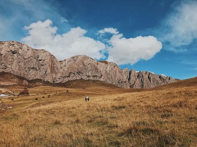 gansu-gannan-mountainous-landforms-mountain-sky 图片素材