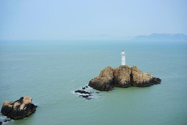 sea-sky-ocean-water-rock picture material