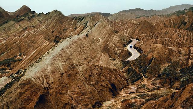 rock-mountainous-landforms-badlands-geology-geological-phenomenon 图片素材