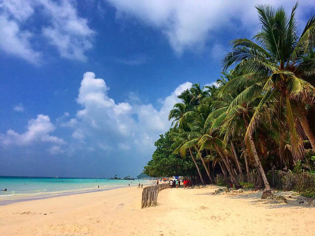 tropical-sand-beach-exotic-travel picture material