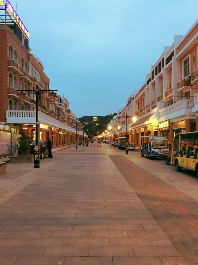 湄洲岛-街 picture material