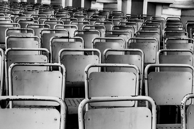 empty-row-no-person-vacant-seat picture material