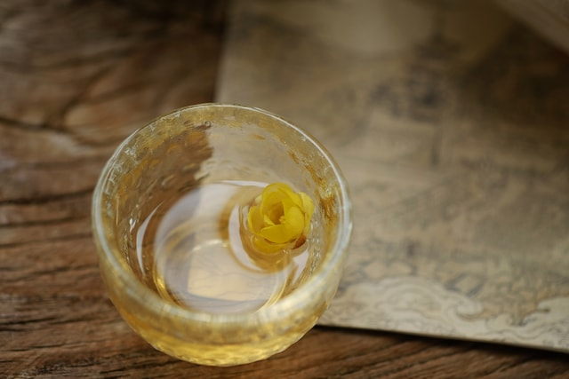 language-of-wine-yellow-wood-glass-calm picture material