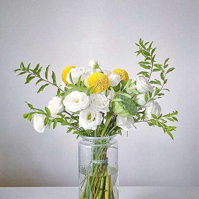 vase-flora-pot-flower-leaf picture material