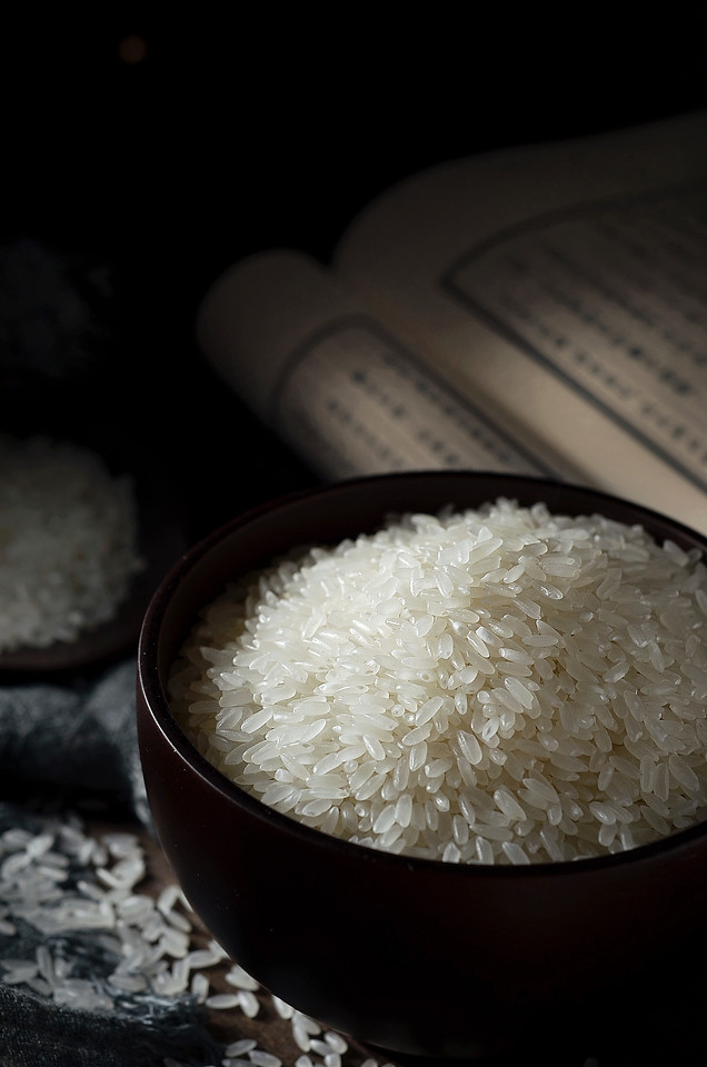rice-no-person-food-steamed-rice-bowl picture material