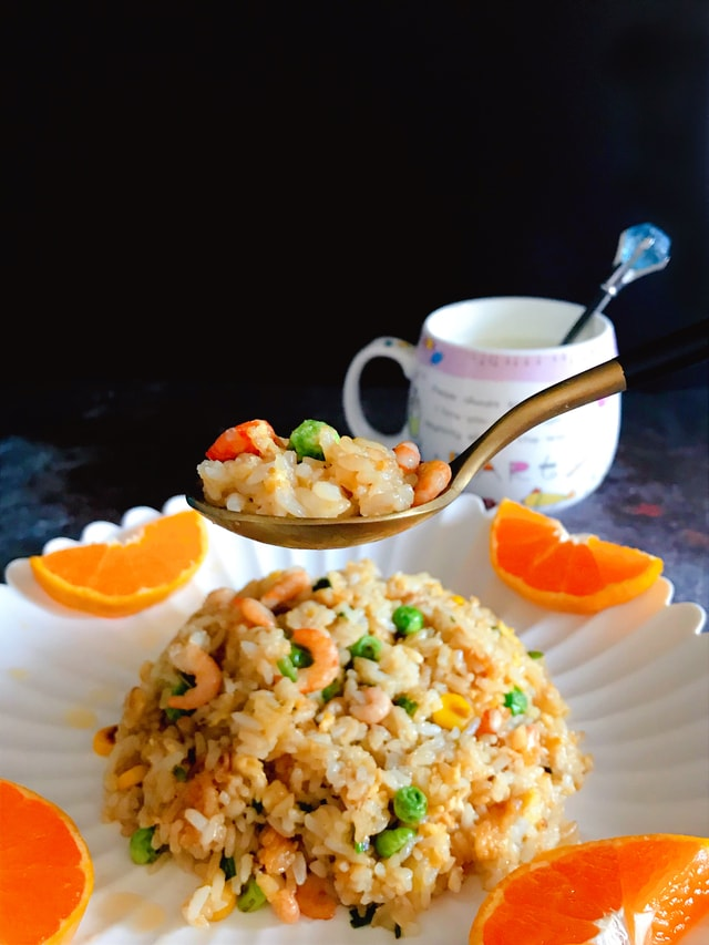 food-dish-rice-cuisine-fried-rice picture material