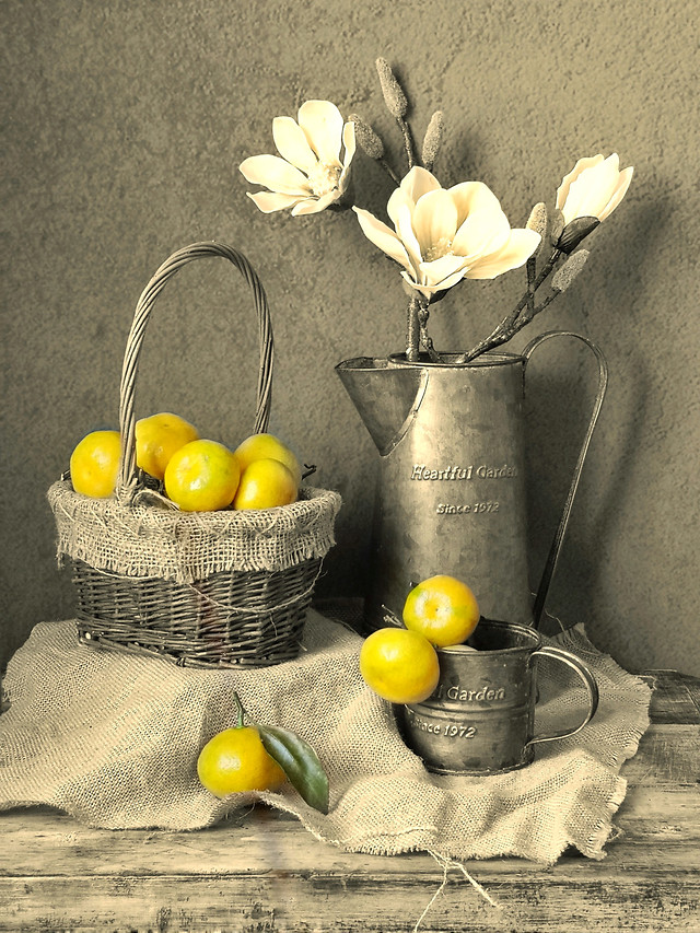 basket-still-life-no-person-easter-rustic picture material