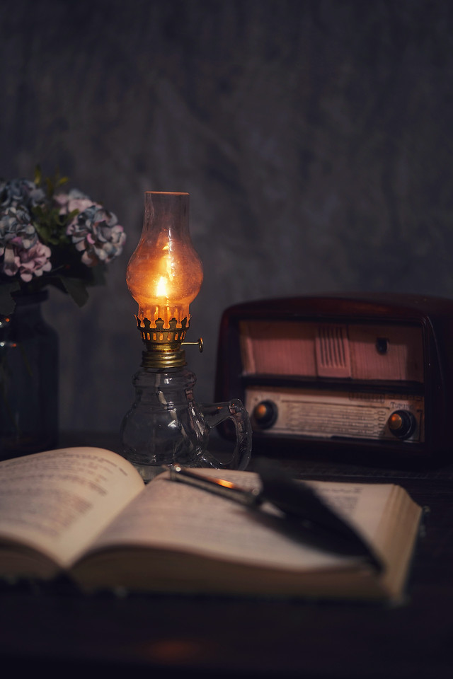 no-person-still-life-candle-dark-light picture material