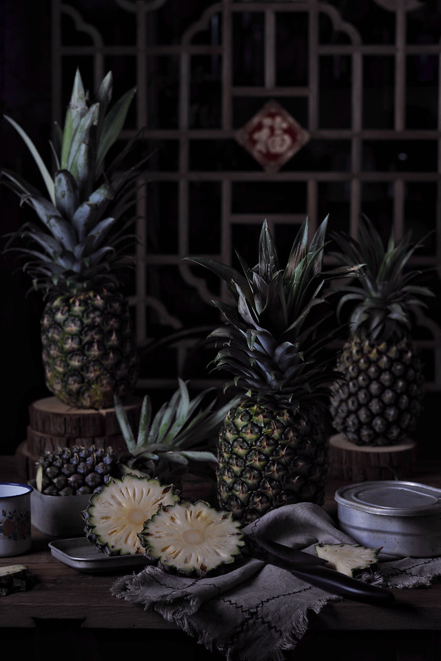 decoration-ananas-desktop-no-person-pineapple picture material