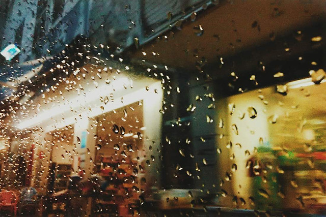 no-person-rain-blur-light-abstract picture material
