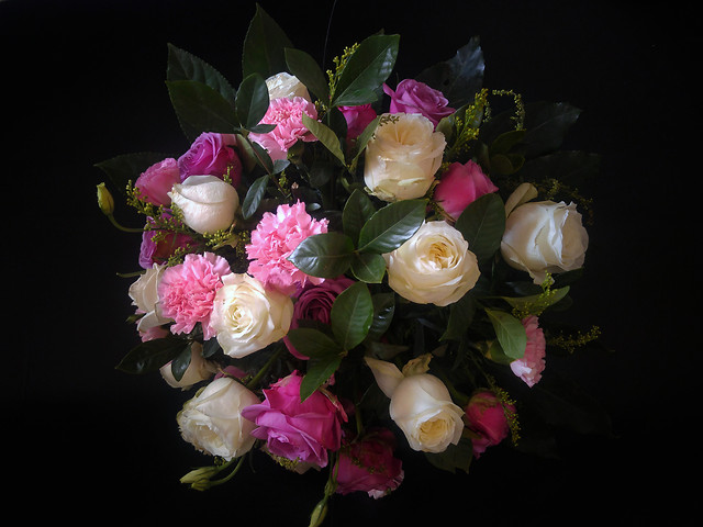 rose-flower-wedding-love-bouquet picture material