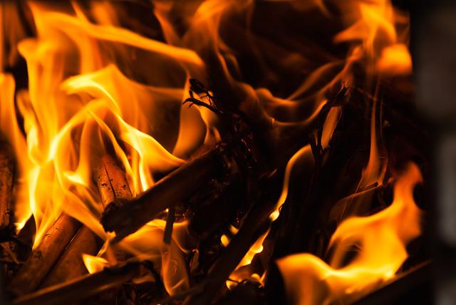 flame-fireplace-campfire-bonfire-heat 图片素材