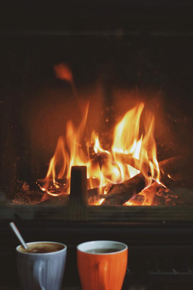 flame-hot-heat-fireplace-warmly 图片素材